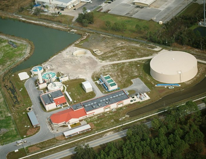 C Wayne Combee Water Treatment Plant Wtp And Wellfield