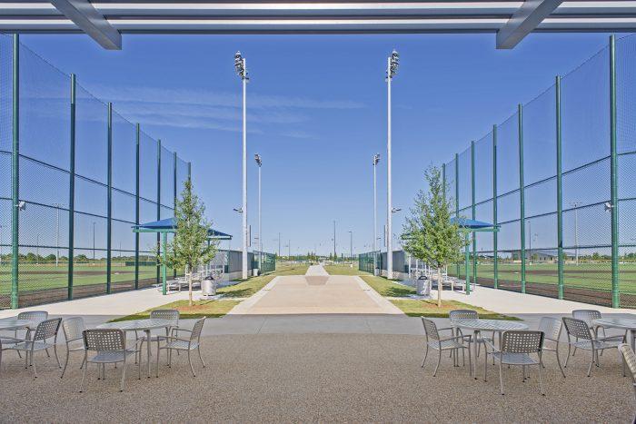 baseball fields