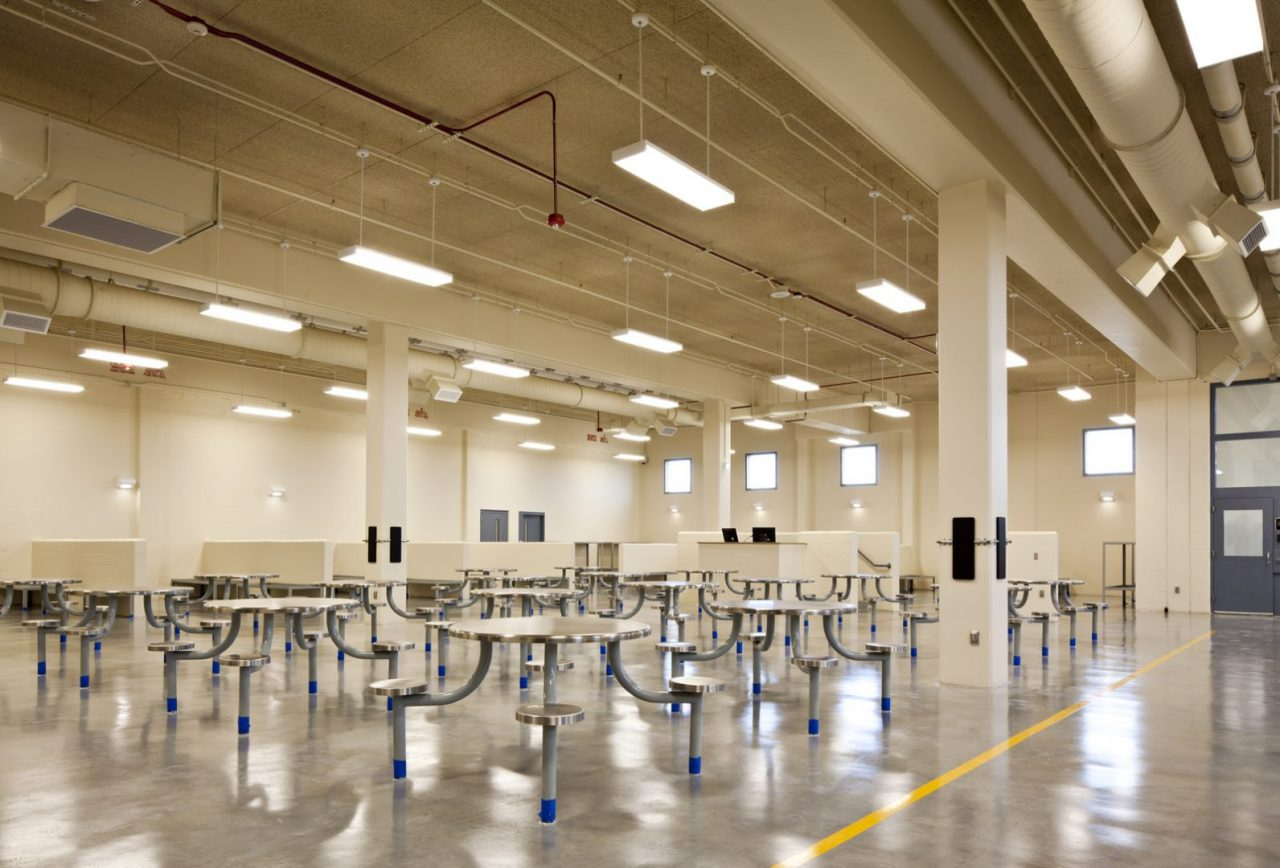 john e polk correctional facility wharton smith inc project gallery