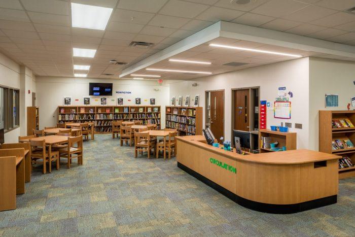 school library