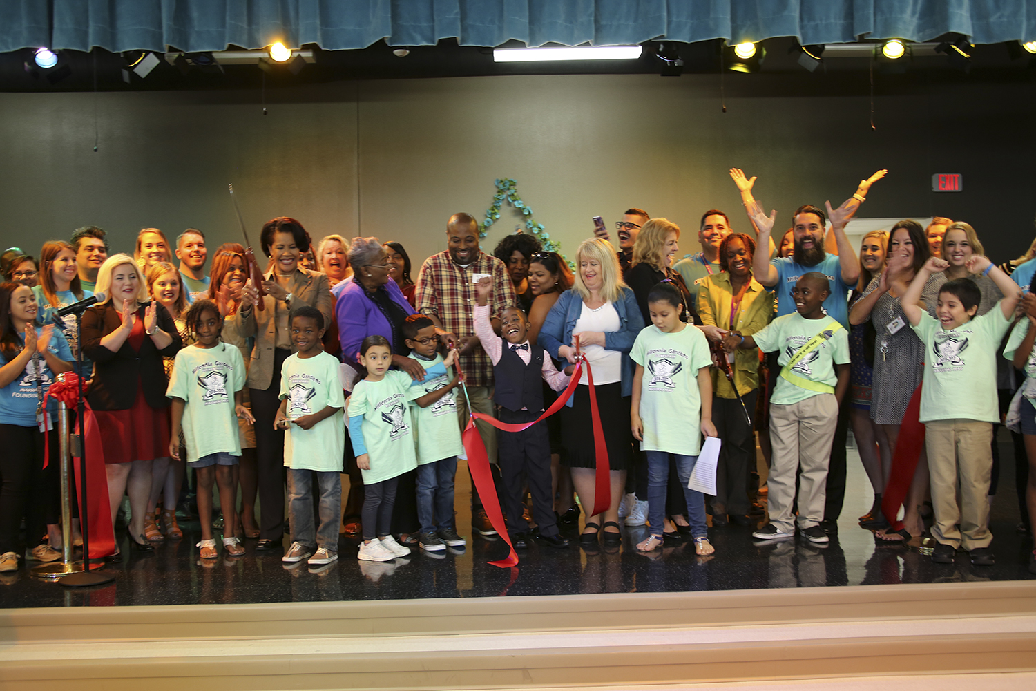 Wharton Smith Celebrates Grand Opening And Dedication Of New Millennia Gardens Elementary School