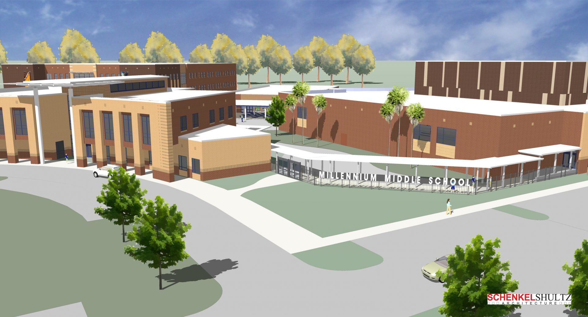 Wharton-Smith Selected as Construction Manager for New Millennium Middle School