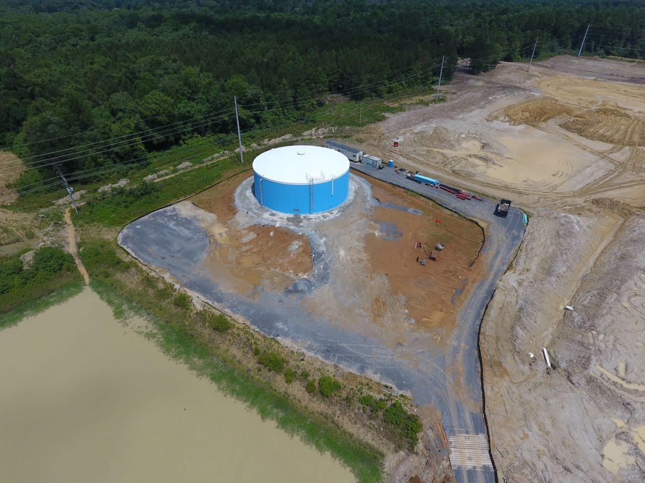 Juban Crossing Ground Storage Tank Wharton Smith Inc