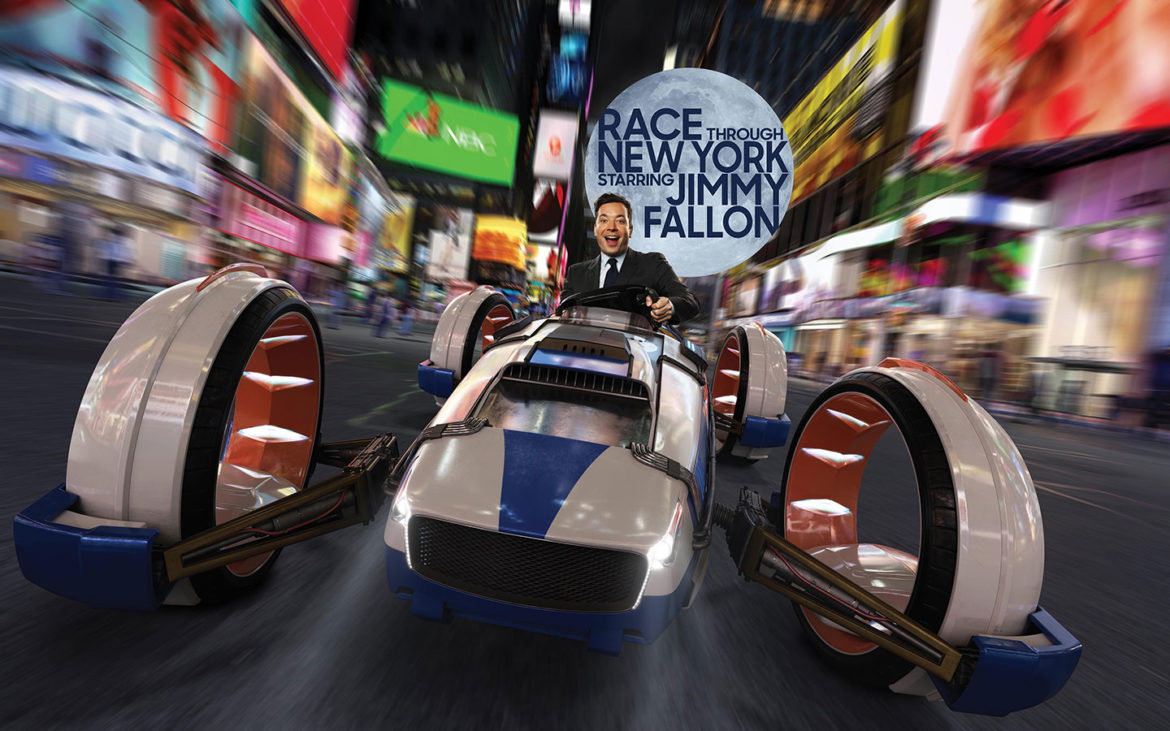 Race Through New York Starring Jimmy Fallon Officially Open