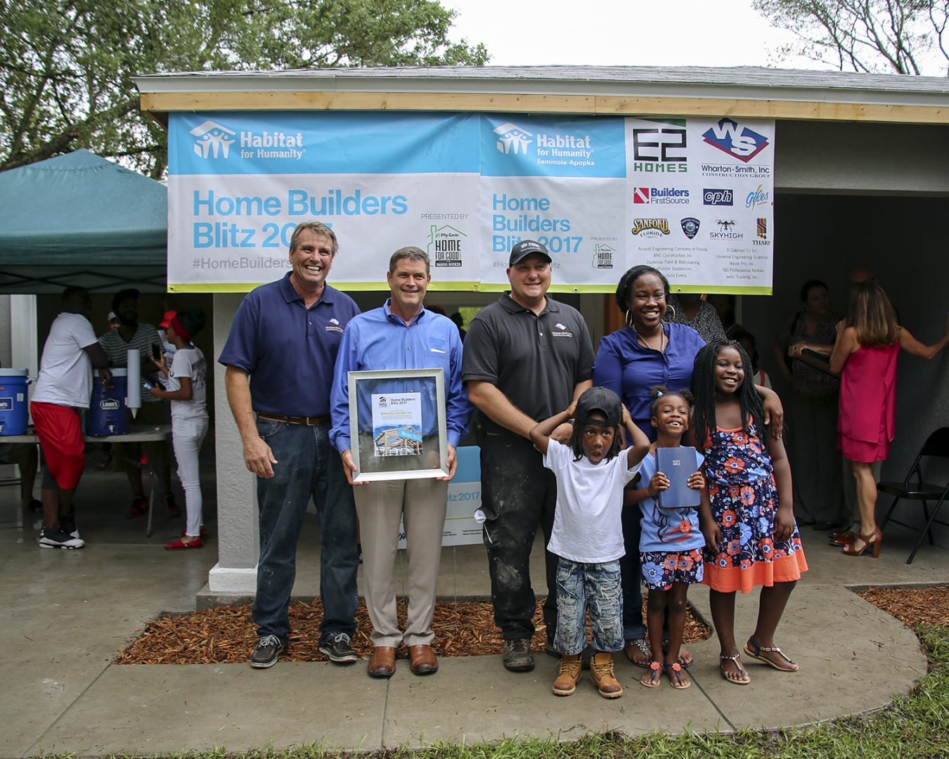 Wharton-Smith Participates in Habitat for Humanity Home Builders Blitz