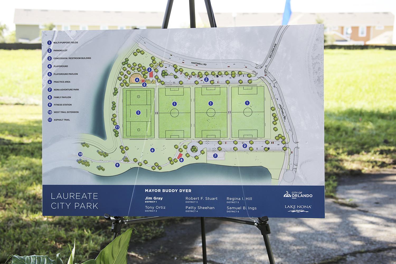 Wharton-Smith Breaks Ground on New Park at Lake Nona