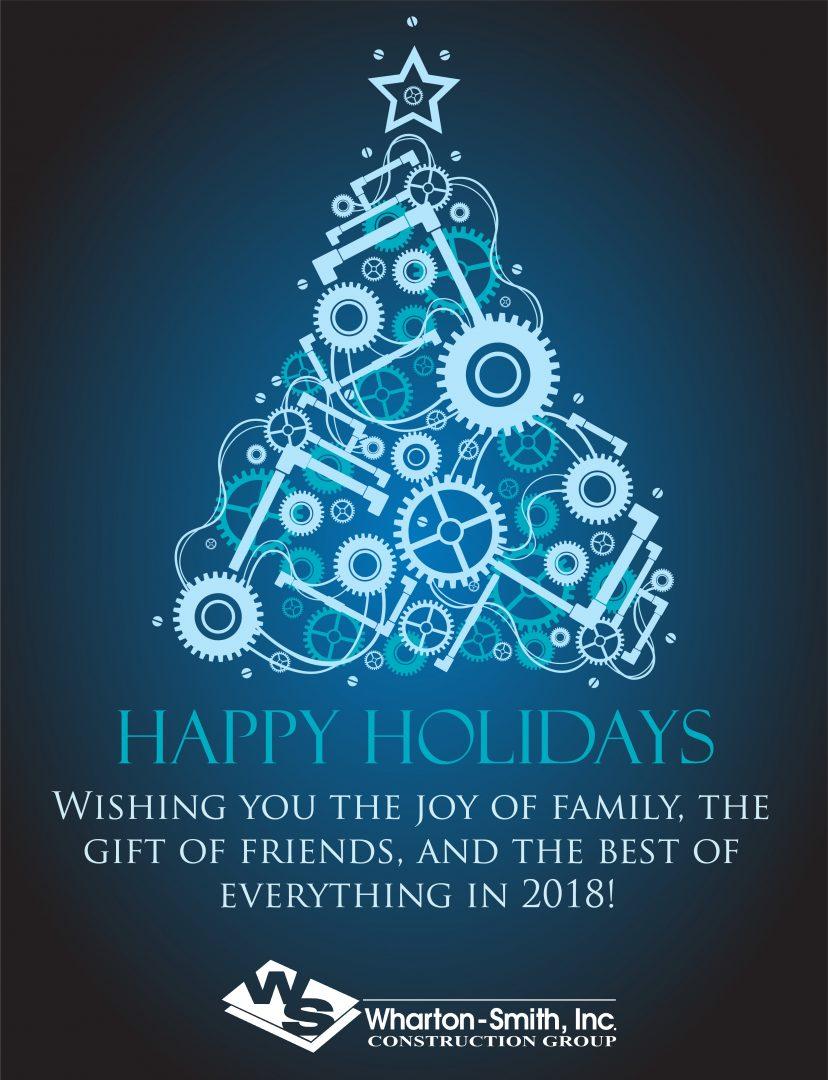 Happy Holidays from the Wharton-Smith Family!