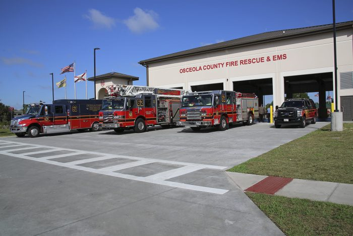Osceola County Fire Station 62 and 65th Infantry Park