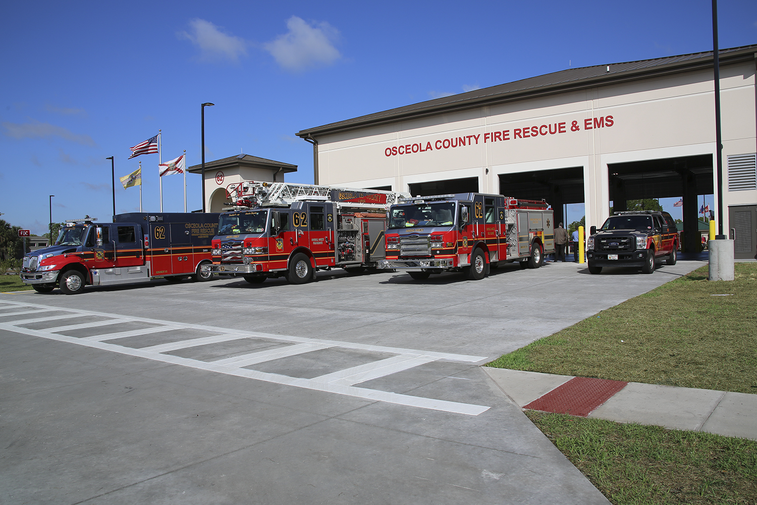 Universities In Charlotte Nc >> Osceola County Fire Station 62 and 65th Infantry Park ...