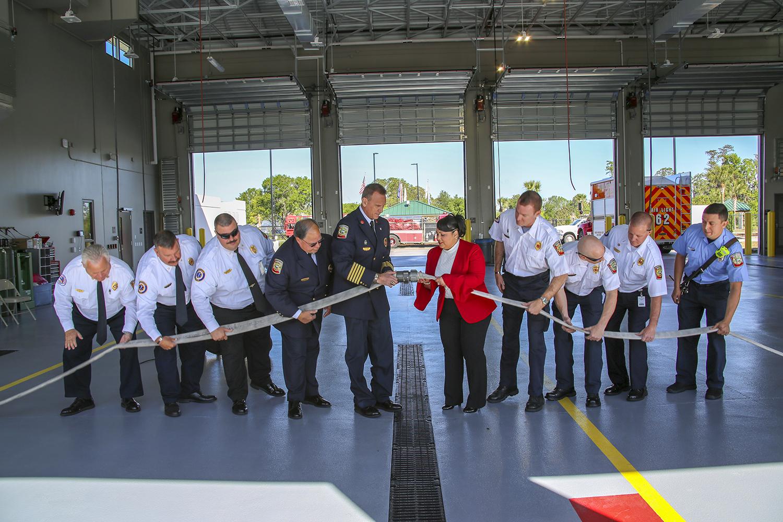 Wharton-Smith Celebrates Grand Opening of Osceola County's Fire Station 62 & 65th Infantry Veterans Park