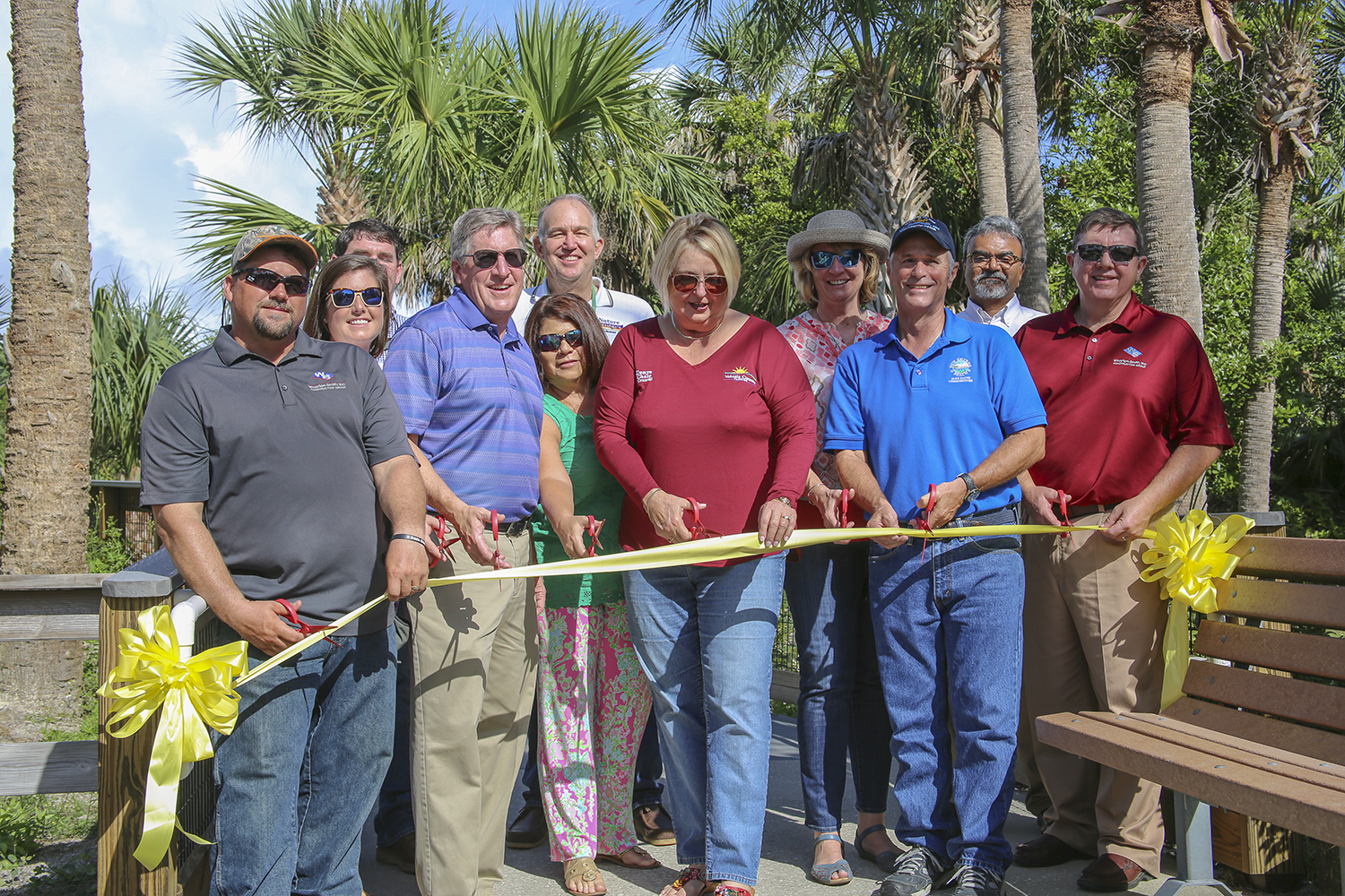 Wharton-Smith Celebrates Completion of the Smyrna Dunes Park Boardwalk Renovation Project