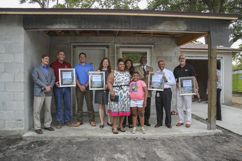 Wharton-Smith Participates in the 2018 Habitat for Humanity Home Builders Blitz