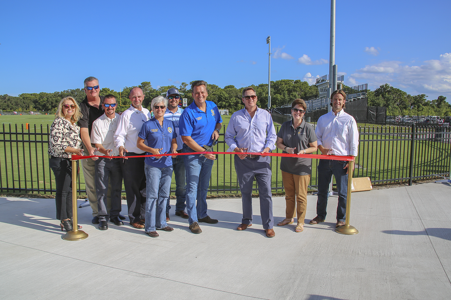 Wharton-Smith Celebrates Grand Re-Opening of the Austin-Tindall Sports Complex