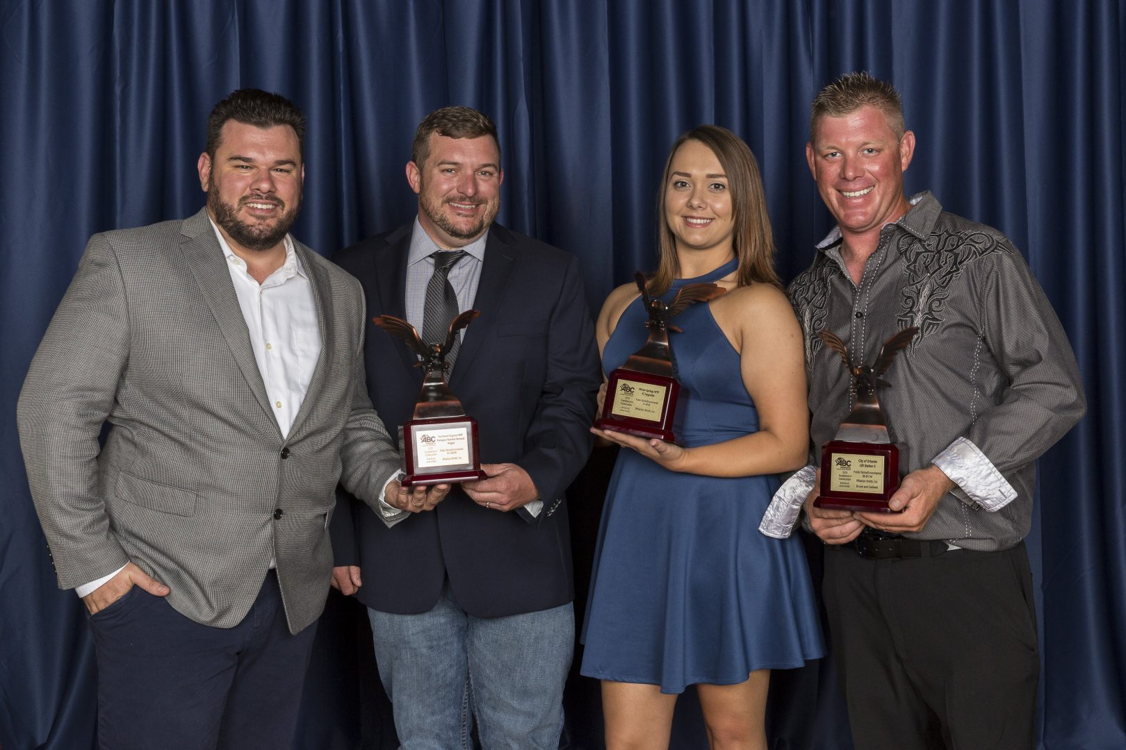Wharton-Smith Wins Multiple Eagle Awards for Water/Wastewater Projects