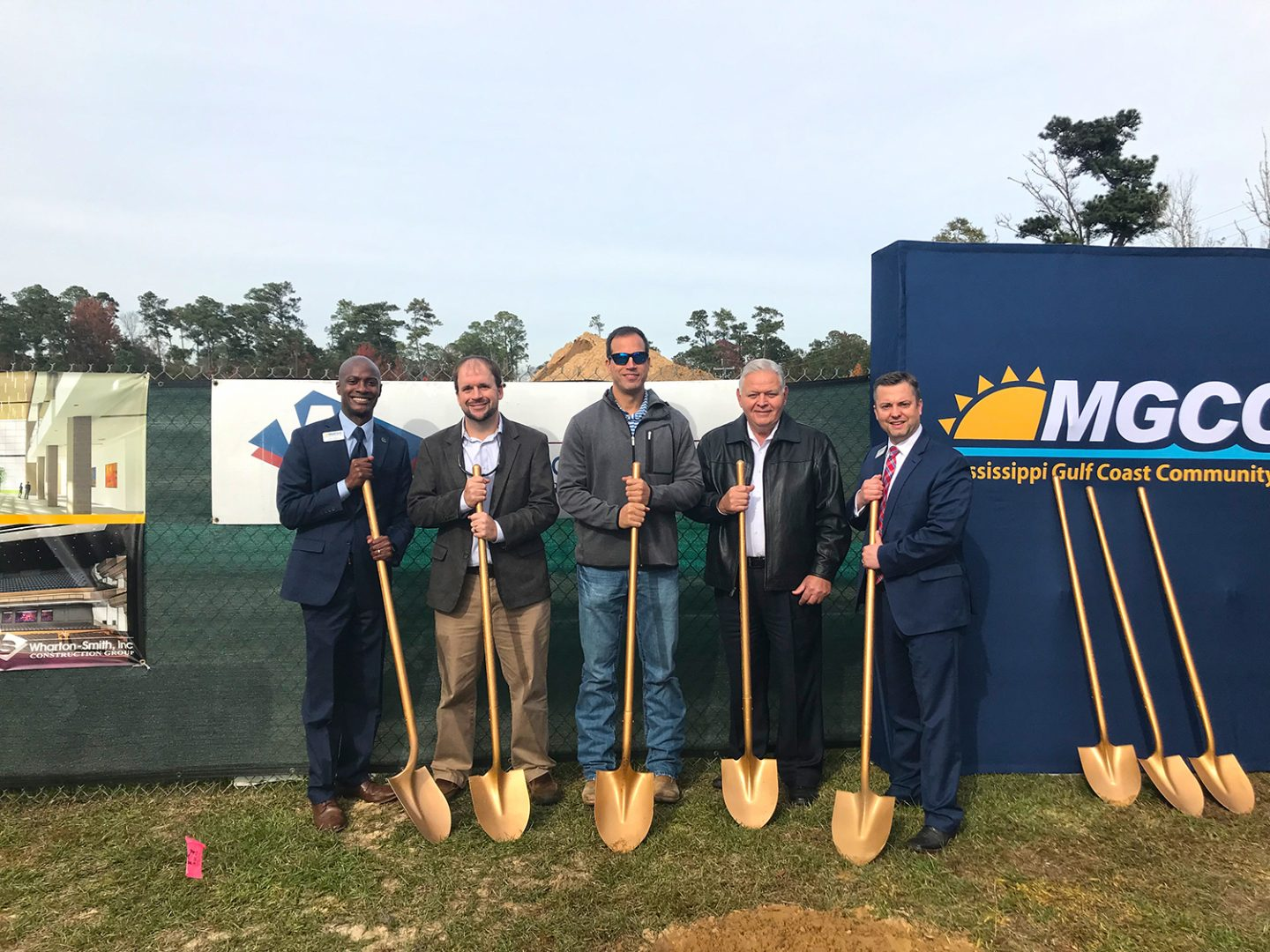 Wharton-Smith Breaks Ground on the Mississippi Gulf Coast Community College Performing Arts Center
