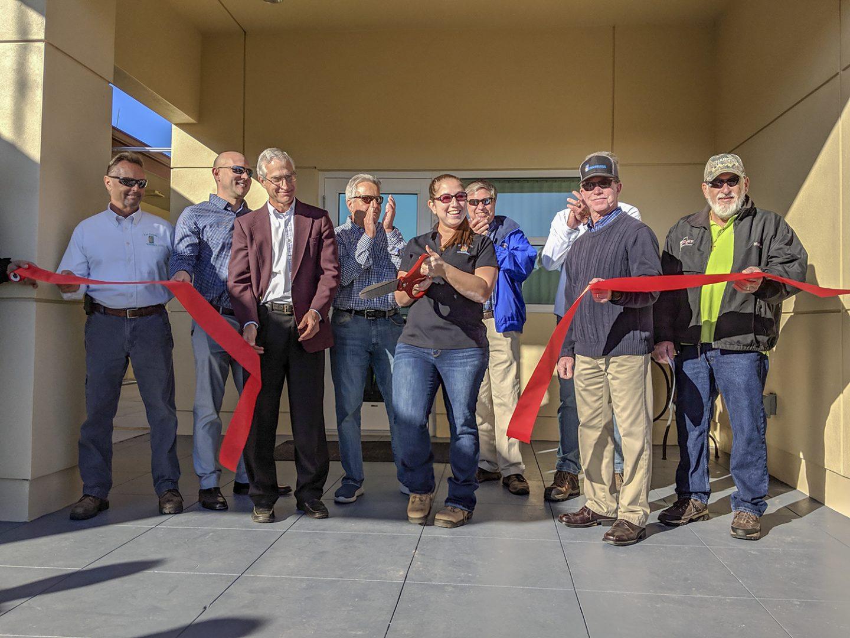 Ribbon Cutting at Three Oaks Water Reclamation Facility