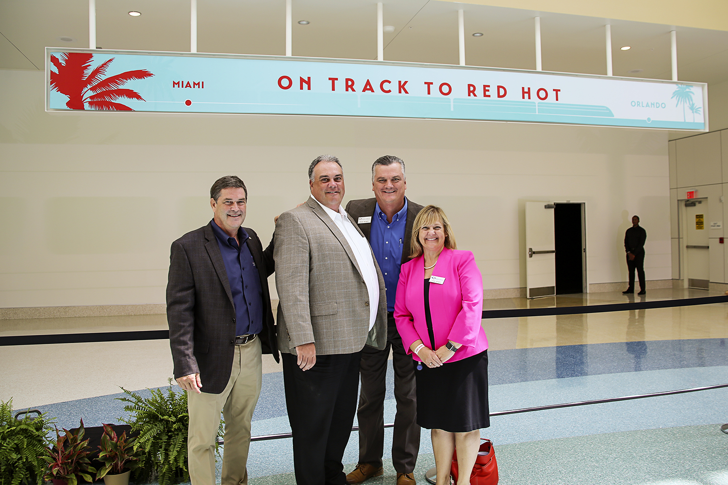 Wharton-Smith is On Track To Red Hot!