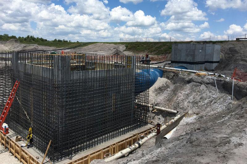 CIP Concrete Install